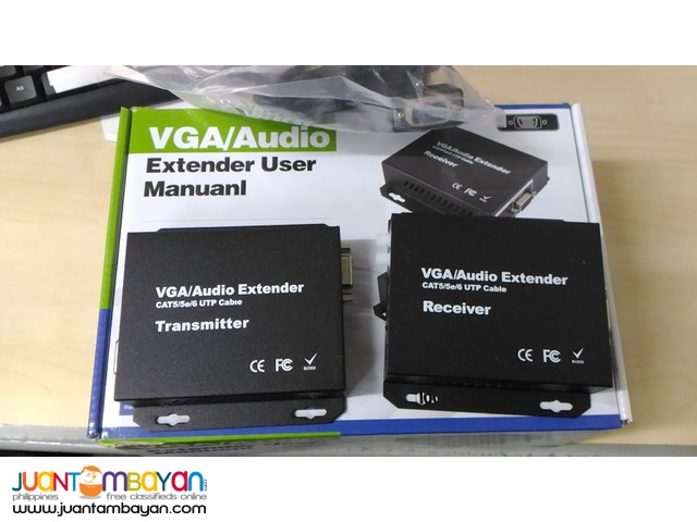 VGA Extender up to 200M Via Single Lan / UTP Cable