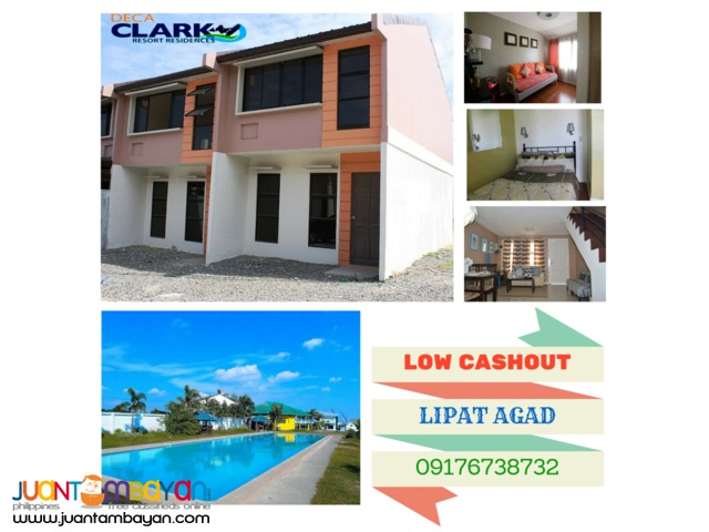 Rent To Own House & Lot Deca Clark Pampanga