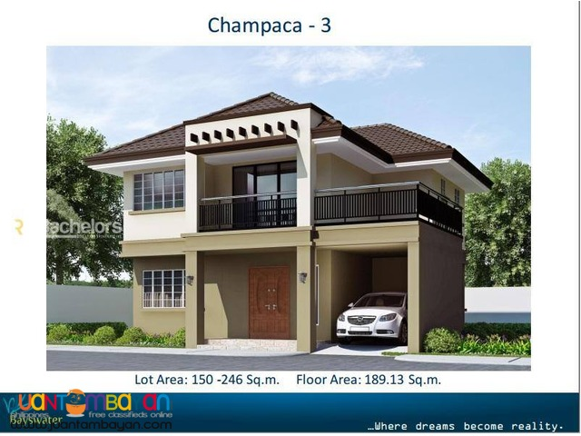 Bayswater Talisay City Cebu Champaca 3 Model