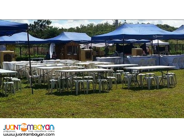 RETRACTABLE OPEN TENT PACKAGE OF 10
