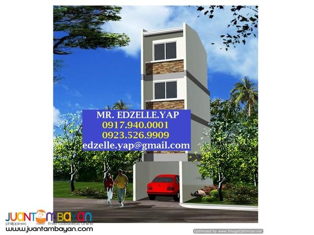 4 Storey Townhouse for Sale . Bago Bantay, Quezon City