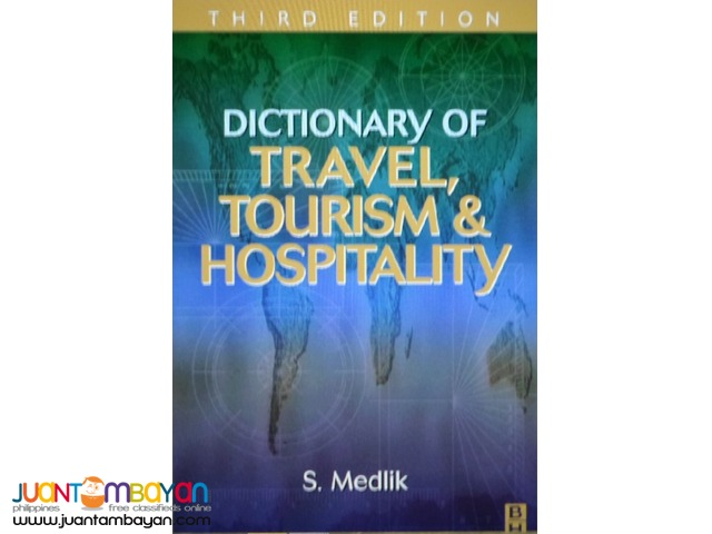 Reference eDictionary of Travel, Tourism, Hospitality, Environmental