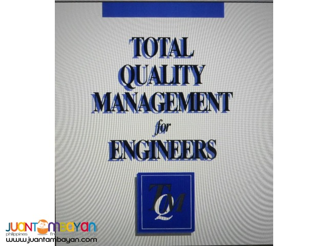 Total Quality Management and Six Sigma eBooks