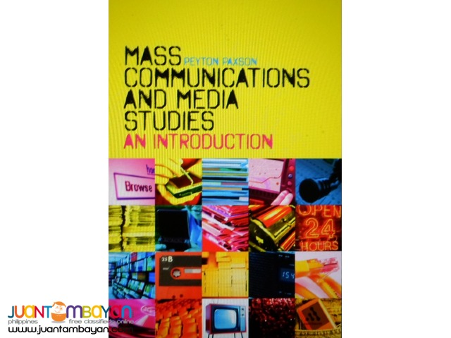 Masscommunication & Journalism Reference eBooks
