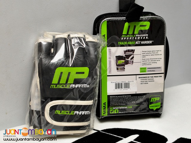 SALE - MusclePharm Sportswear MMA Gloves (Free Shipping)
