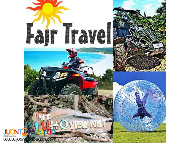 BORACAY 2 IN 1 PACKAGE - ATV/BUGGY WITH ZORB