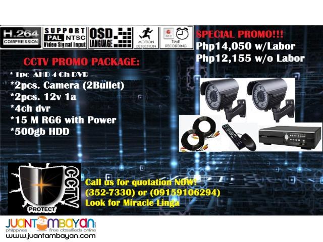 CCTV Package (Bullet)