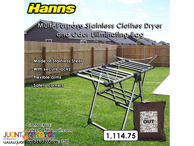 Stainless Clothes Dryer and Odor Eliminating bag for Sale