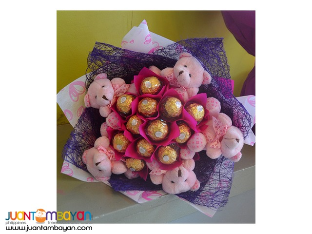 Chocolate Bouquets  - FG Davao Gift Shop