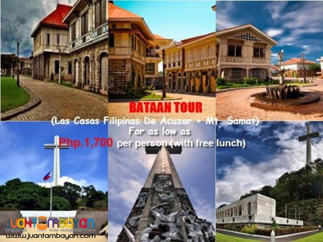 Bataan Day Tour  (Las Casas Filipinas De Acuzar Tour)