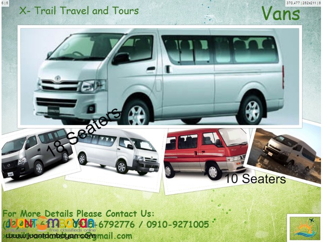 Land Transportation (Van)
