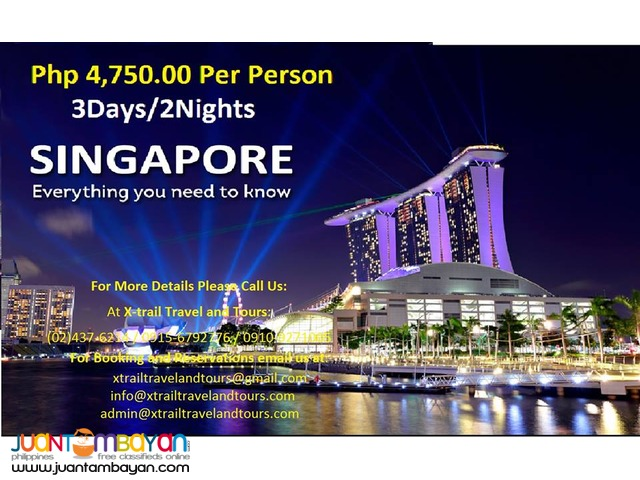 Singapore Free & Easy package