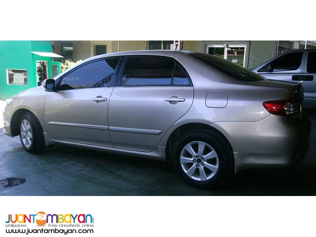 Rent a car Toyota Altis Sedan