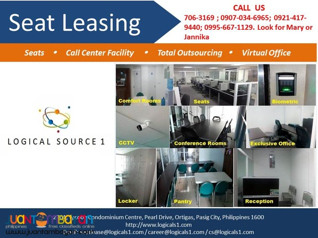 Call Center Seat Lease Ortigas