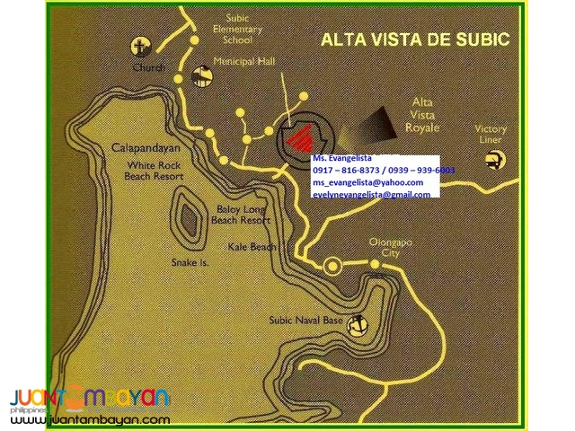 Affordable Res.Lot in Alta Vista de Subic Zambales