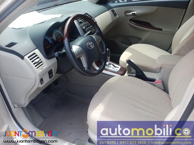 2011 Toyota Corolla Altis V