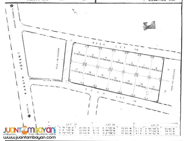 Comml Lot For Sale facing Imelda ave., Sta. Lucia East Mall