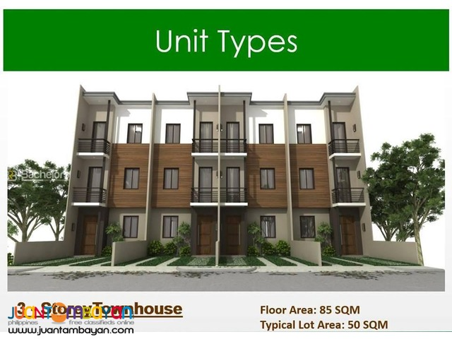 888 Acacia Drive Residences 3story townhouse