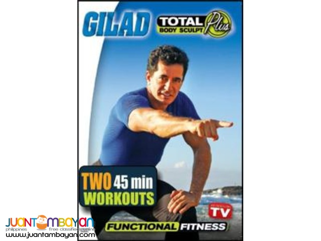 Gilad Total Body Sculpt Plus Functional Fitness
