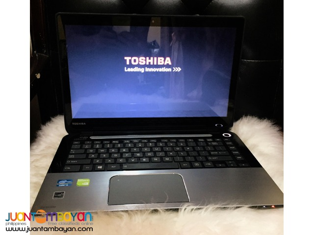 Touchscreen Laptop Toshiba Core i5 4gb RAM 750gb HDD