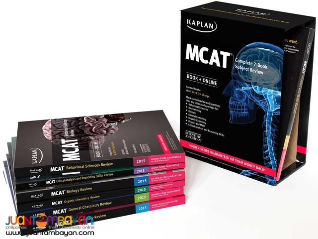 Kaplan MCAT Review 2015 Edition