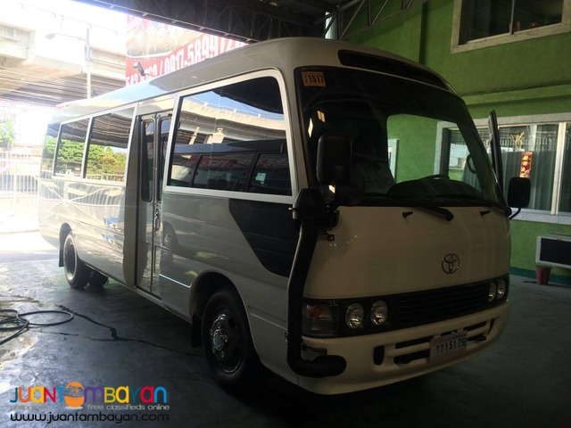 Brand New Toyota Coaster for Rent