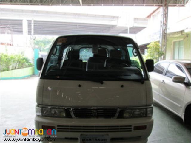 Nissan Urvan for Rent '2012'