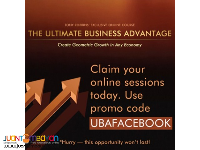 Anthony Robbins Ultimate Business Advantage
