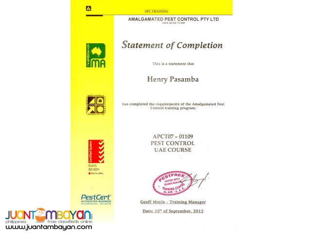 Termite anay Eradication and Pest control