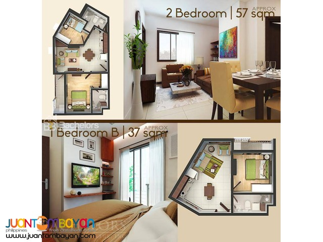 Antara Residential Condominium 1 Bedroom Unit - Talisay City Cebu