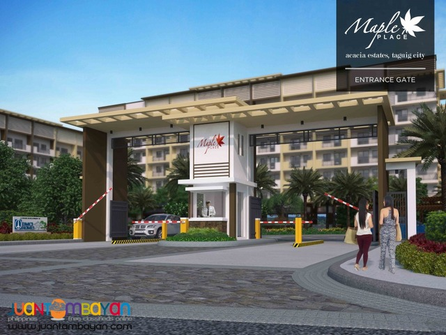 Taguig Condo in Acacia Estates