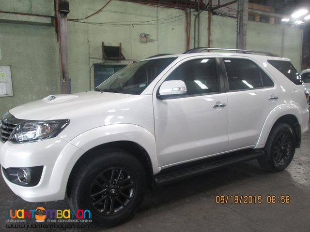 rent a car Fortuner