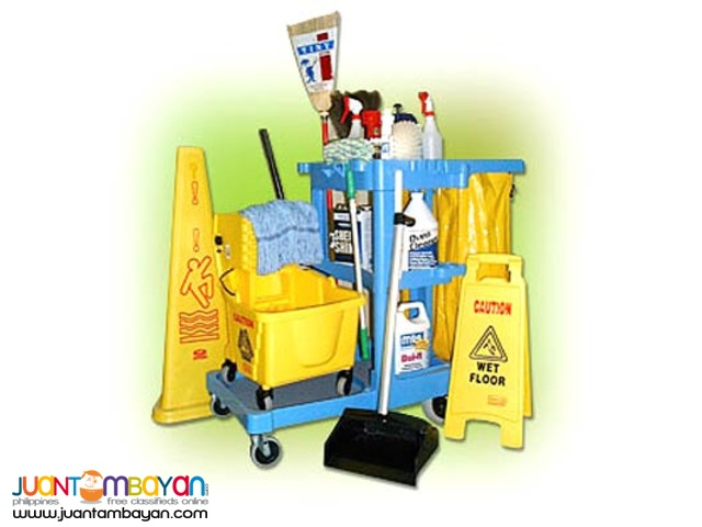 Complete Janitorial & Cleaning Supplies