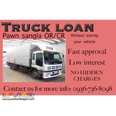 truck loan and 2nd hand truck financing  fast approval and release
