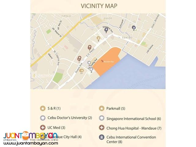 Mandani Bay Studio Unit - Cebu, Mandaue City
