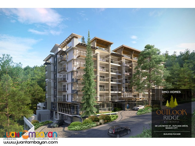 Baguio condominium in Outlookridge by DMCI Homes