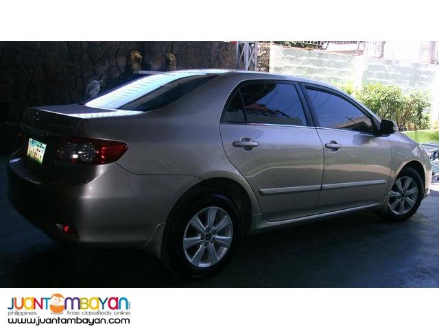 Rent a car Toyota Altis