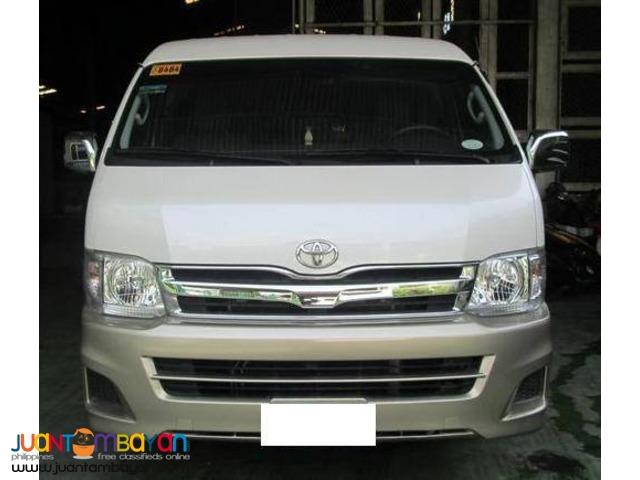 RENT A CAR Toyota Hi-ace