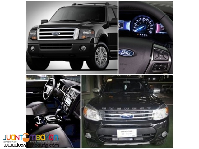 RENT A CAR FORD EVEREST BLACK