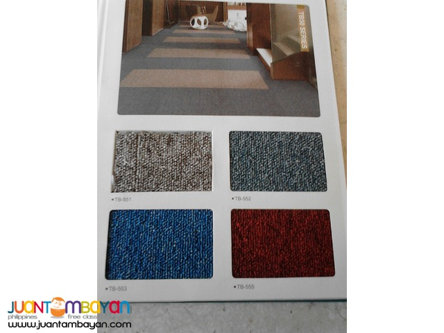 Office Partition/Carpet tiles
