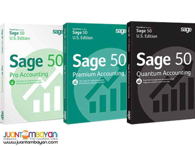 SAGE 50 SOFTWARE (THE USER FRIENDLY ACCTG SOFTWARE)