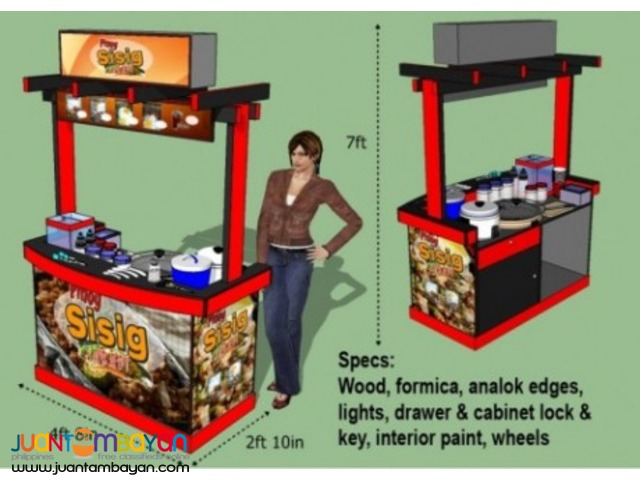 Manage Your Own FOODCART Business!