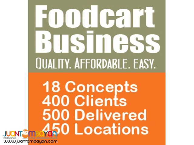 Manage Your Own SILOG FOODCART Business!