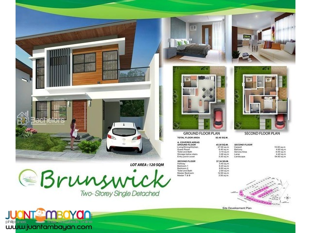 The Crescent Ville Brunswick Model
