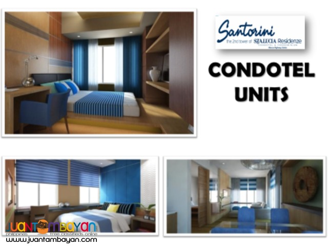 For sale CONDO CONDOTEL linked  STA LUCIA EAST MALL CAINTA