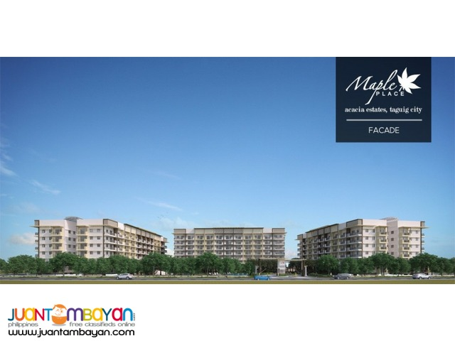 maple place condo in taguig
