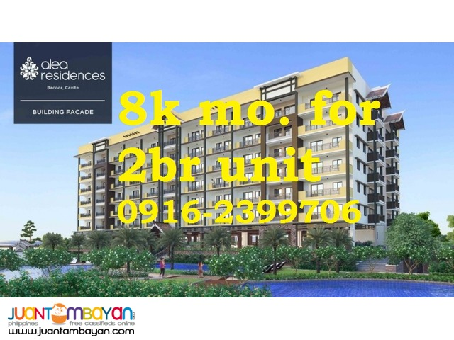 Bacoor Cavite condominium near Coastal Road in front of Bali Garden