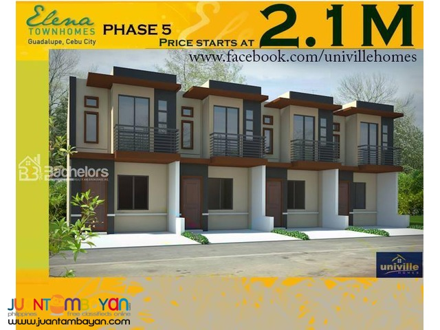 ELENA TOWNHOMES - PHASE 5 Guadalupe, Cebu City