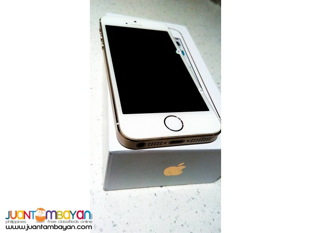 Authentic IPhone 5S 16gb Gold Complete with Box
