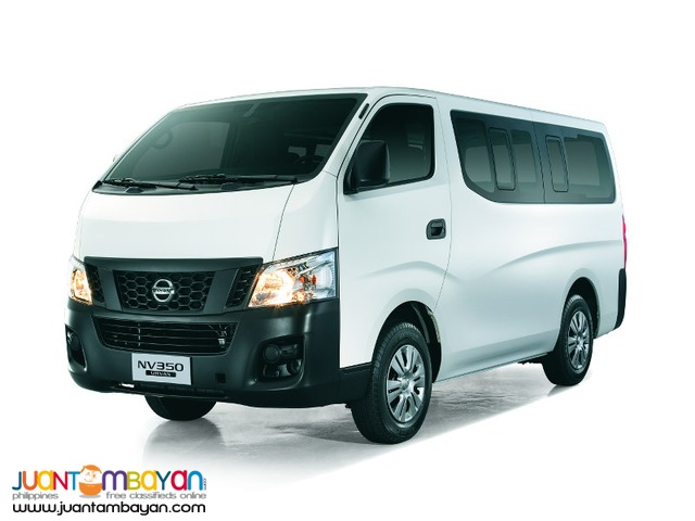 RENT A CAR NEW NISSAN URVAN WHITE